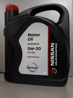 Масло моторное 5W30 5L Nissan RUS